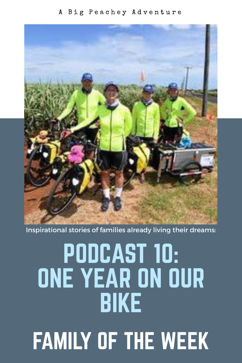 One Year on Our Bike (Family of the Week)