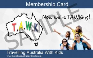 Best Caravan Park Discount Cards - Travelling Australia With Kids (TAWK) Membership Card