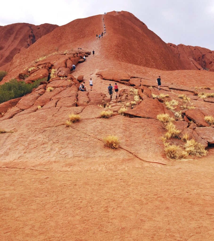 Climbing Uluru is Very Dangerous