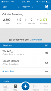 My Fitness Pal is one of the 5 Free Fitness Apps for Food Diary Calorie Counting