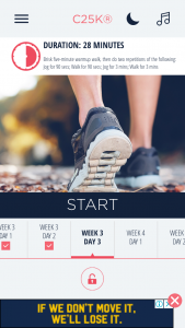 C25K is one of the 5 Free Fitness Apps