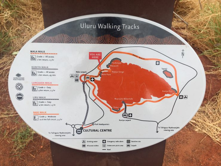 Uluru Walking Tracks