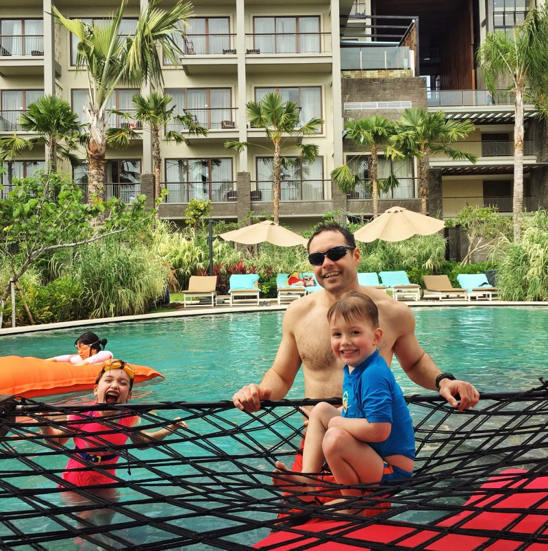 image for travelling to Bali with toddlers - favourite family friendly resorts