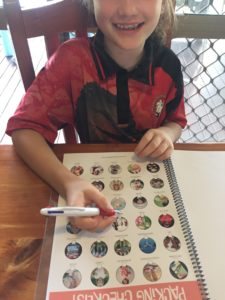 CWK Kids Travel Journal Travel Checklist