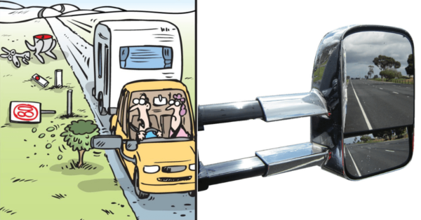 Best Caravan Towing Mirrors Cover Image