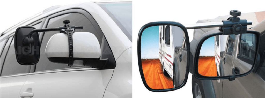 Drive Easy Fit Towing Mirrors
