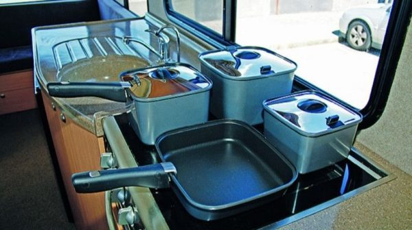 Camec SmartSpace Pots - The Most Popular Caravan Cooking Accessories
