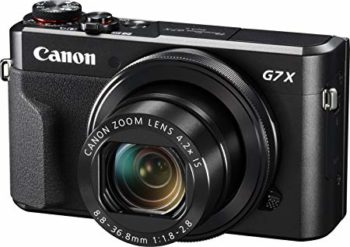Compact Digital Camera for Caravanning - Canon Powershot G7X Mark II