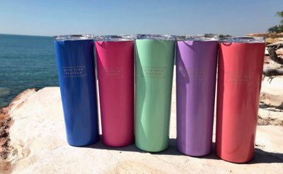 Love Your Travels Slimline Insulated Travel Mug