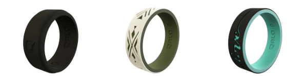 Qalo Silicon Wedding Rings - Perfect for Caravanning
