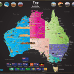 Track Your Travels: Large Scratch-Off Map of Australia
