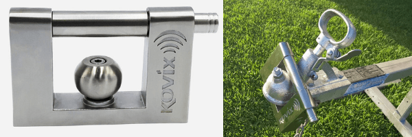 Things to buy for a new caravan - Kovix Alarmed Trailer Lock KTR-18