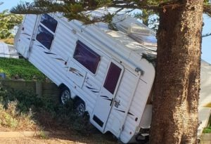 Caravan park etiquette - if you offer to help reverse some people get offended