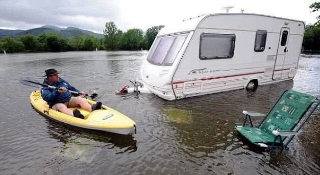 Should You Tow a Caravan With Full Water Tanks?