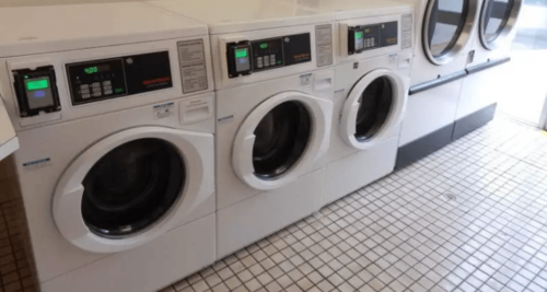 Washing Clothes While Caravanning - Caravan Park Laundromat