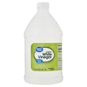 White vinegar is helps to keep ants out of your caravan