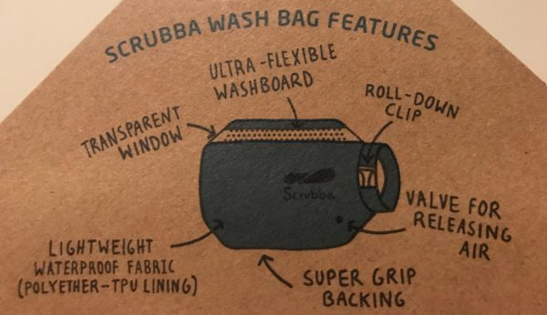 Scrubba Wash Bag Review - Features