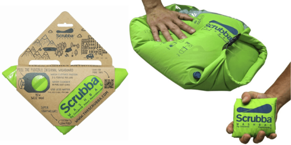 Scrubba Wash Bag Review - Packaged, Folded, In Use