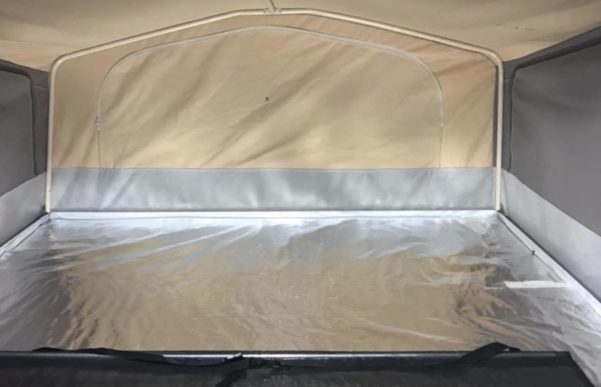 Best way to insulate underneath the mattresses of Jayco camper trailers