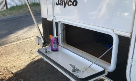 Tunnel Boot Table Modification for Jayco Camper Trailer