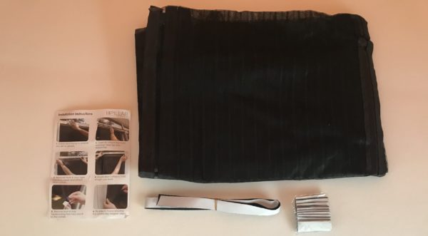 Magnetic Strip Door Curtain from Bunnings - Comes with Velcro to Attach to Caravan or Camper