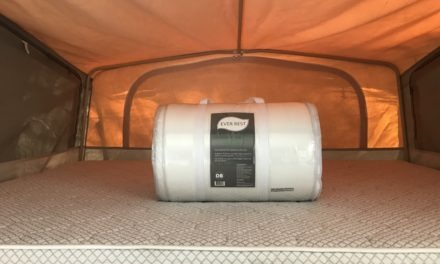 Ever Rest Memory Foam Mattress Topper Review [For Jayco Camper Trailer]