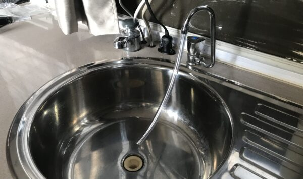 Using 8 mm Clear Vinyl Tube On Tap in Jayco Swan Camper Trailer