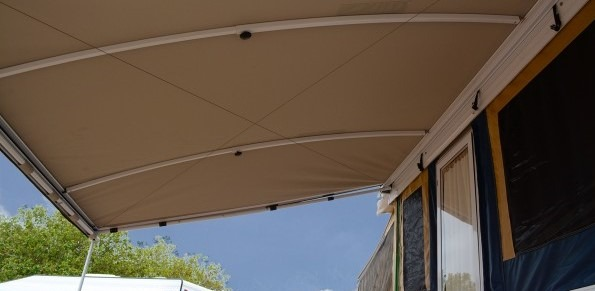 Aussie Traveller Coolabah Awning - One of the Best Awnings for Jayco Swan Camper Trailers