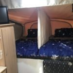 DIY Bed Divider for Jayco Swan Camper Trailer