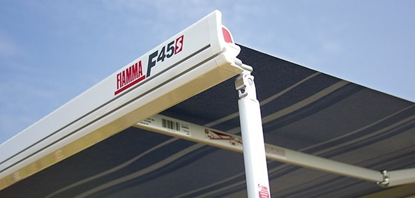 Fiamma F45 The Most Popular Awning for Jayco Swan Camper Trailer