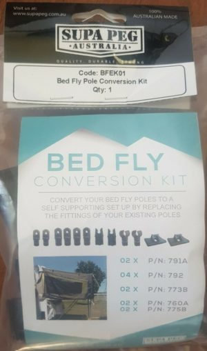 Jayco Camper Trailer Bed Fly Conversion Kit from Supa-Peg via eBay