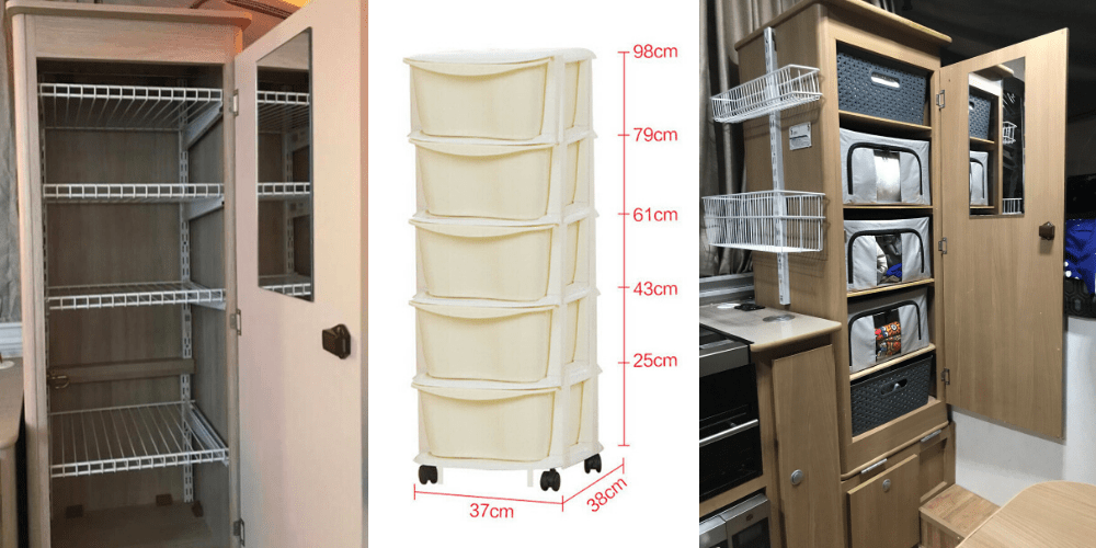 5 Options for Installing Wardrobe Shelves In Jayco Camper Trailers