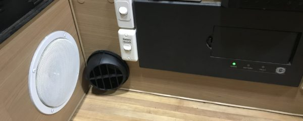 Diesel Heater Hot Air Vent Cover Snaps Into Place on Base