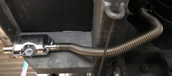 Diesel Heater Muffler Installed Upside Down
