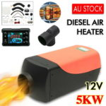 Our 5KW Diesel Heater from eBay for Our Jayco Swan Camper Trailer
