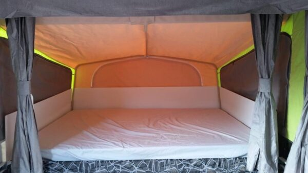Corflute to Stop Moisture Wicking Through Canvas in Jayco Swan Camper Trailer