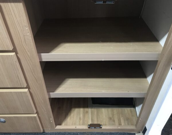 Fitting Magnetic Door Catches to Jayco Swan Entrance Dinette Cupboard - Top and Bottom