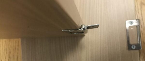 Jayco Swan Camper Trailer Door Hinges From Dinette Entrance Cupboard