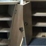 Removing The Centre Pillar From Entrance Cupboard [Jayco Swan]