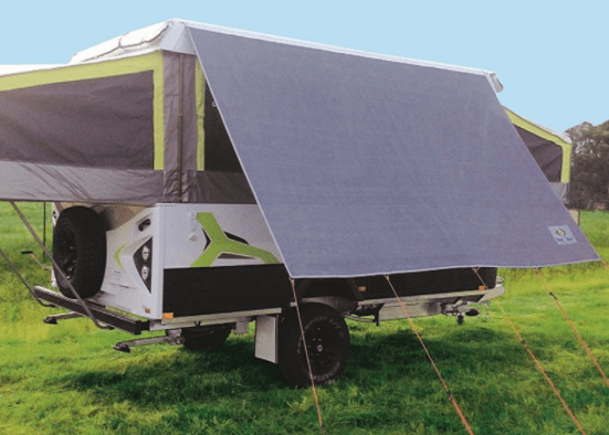 Jayco Camper Trailer Kitchen Privacy Sunscreen