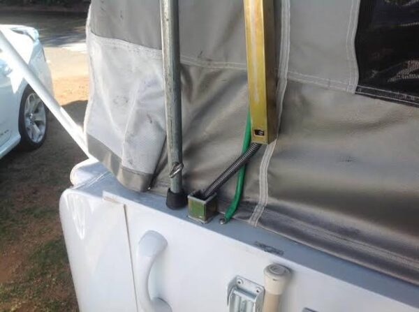 Jayco Camper Trailer Telescopic Riser Arm Popped Out