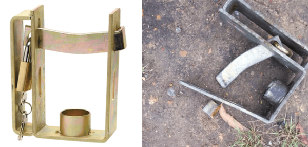 Caravan Stolen When Coupling Hitch Lock Removed With Hacksaw