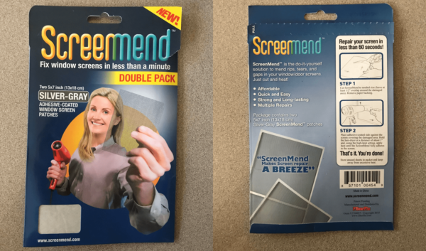 Jayco Camper Spare Parts Kit - Screenmend Fly Screen Repair Kit