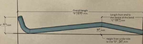 Ezi Hockey Stick Ordering Process - Custom Made to Fit Our Jayco Swan Camper Trailer