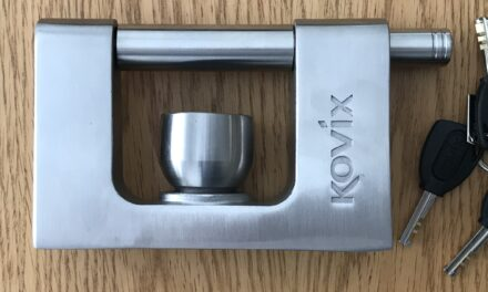 Kovix KTR-18 Alarmed Trailer Lock Review: The Best Caravan Hitch Lock?