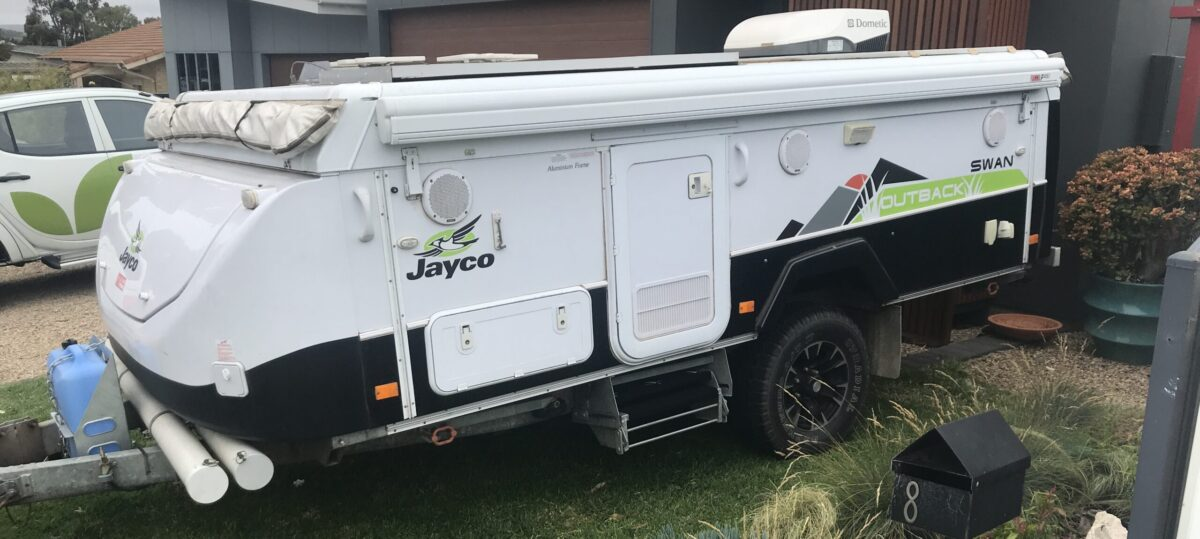 What size fiamma awning for Jayco camper trailer - swan with 3.5m