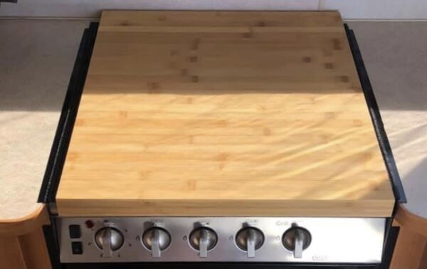 IKEA Lamplig Chopping Board for Jayco Camper Trailer Stove Top Glass
