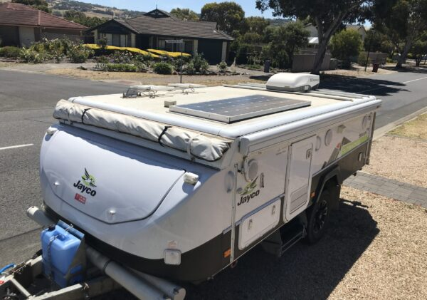 Jayco Camper Trailer Rooftop Accessories